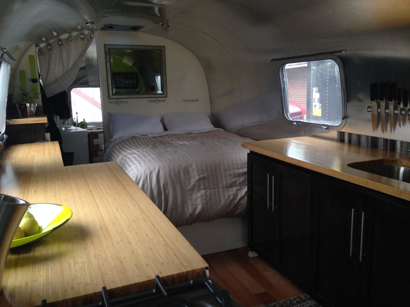 Fully Custom Airstream Luxury Trailer For Sale Soon Airstream For Sale Airstream Interior Airstream Trailers For Sale