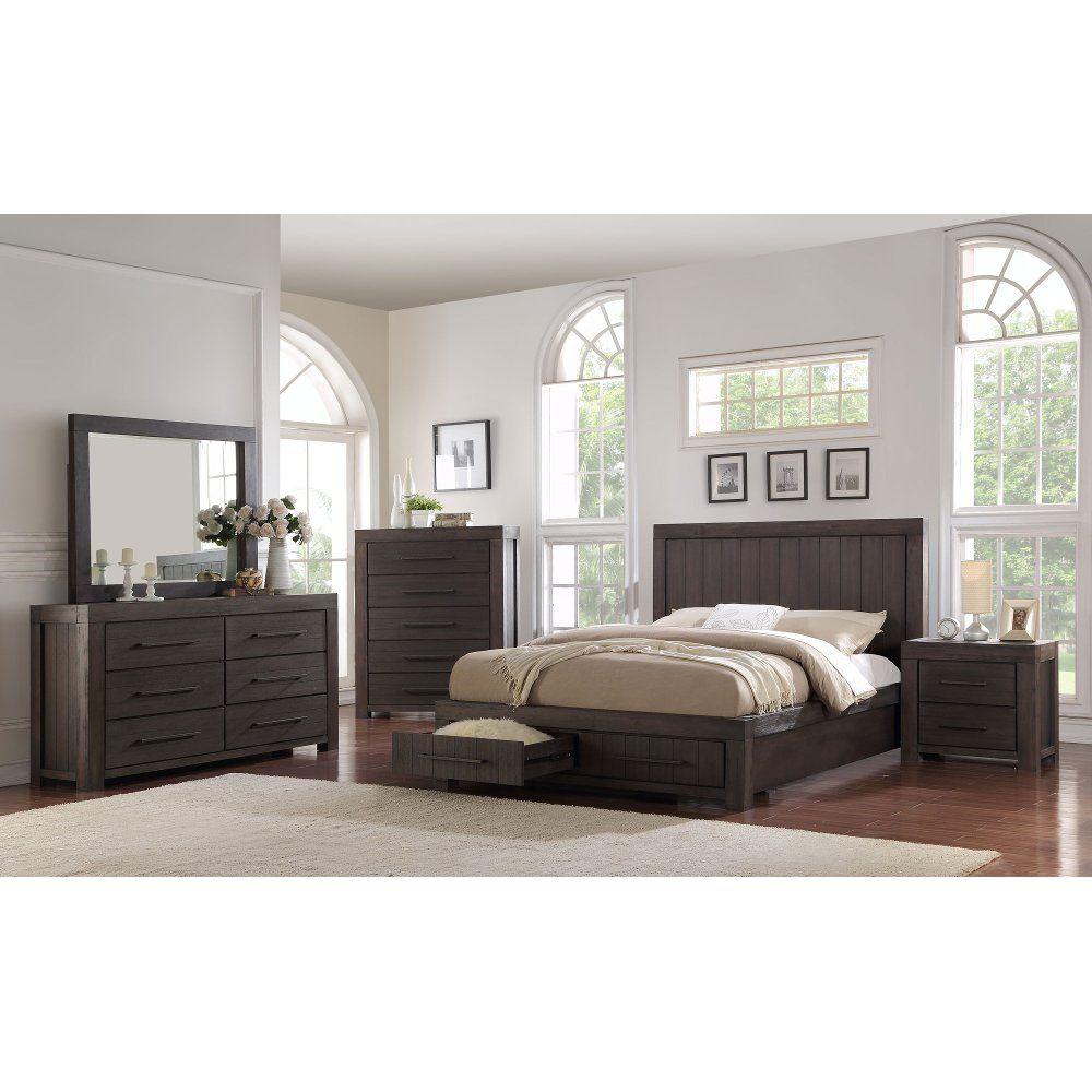 Best Casual Classic Basalt Gray 4 Piece King Bedroom Set 400 x 300