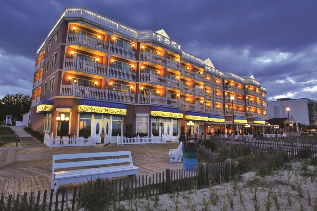 Rehoboth Beach Delaware Oceanfront Hotels In De