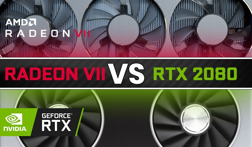Amd Radeon Vii Vs Nvidia Rtx 2080 Nvidia Graphic Card Amd
