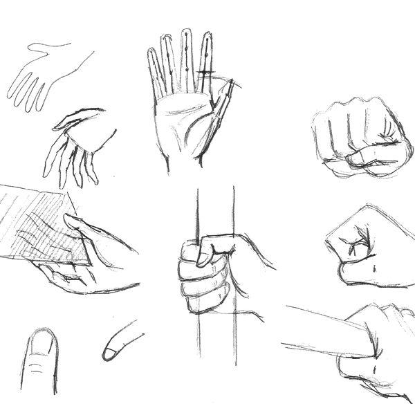 Comment dessiner diff rentes positions de la main artworks pinterest dessin dessin main - Dessin de la main ...