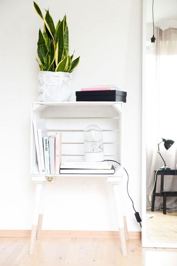 Hacer muebles con cajas de madera Muebles con cajones de fruta