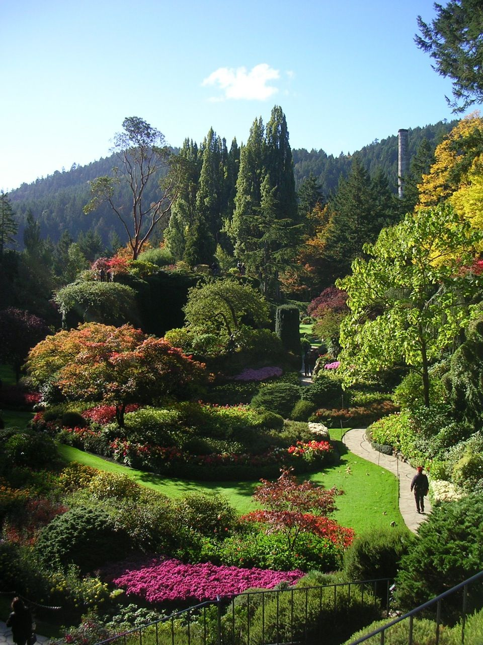 Butchart Gardens in Victoria, Vancouver Island, British
