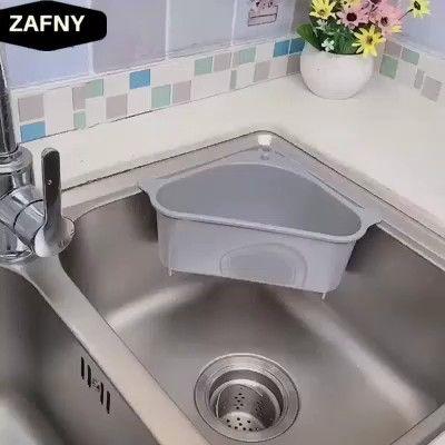 Photo of Triangular Sink Drain Shelf