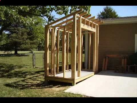 how to build a lean to style storage shed - Garden Sheds With Lean To
