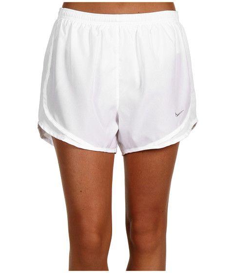 Nike Tempo Short White White White Matte Silver - 6pm.com  aee4508833