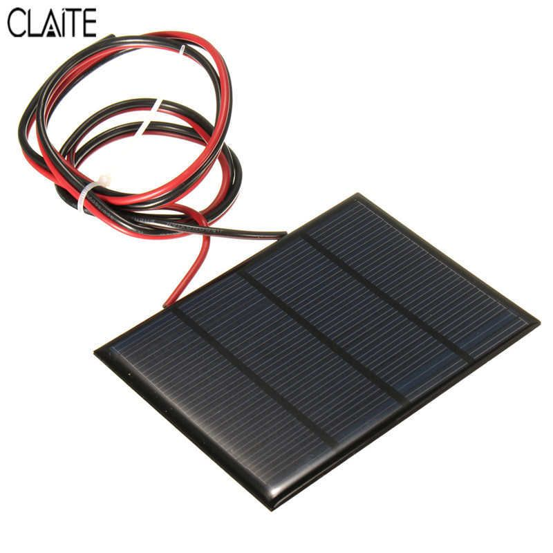 Hot Sale 12v 1 5w 100mah Polycrystalline Silicon Solar Panel Pv Module Mini Solar Cells Battery Phone Charger With Wel Solar Panels Phone Charger Solar Battery