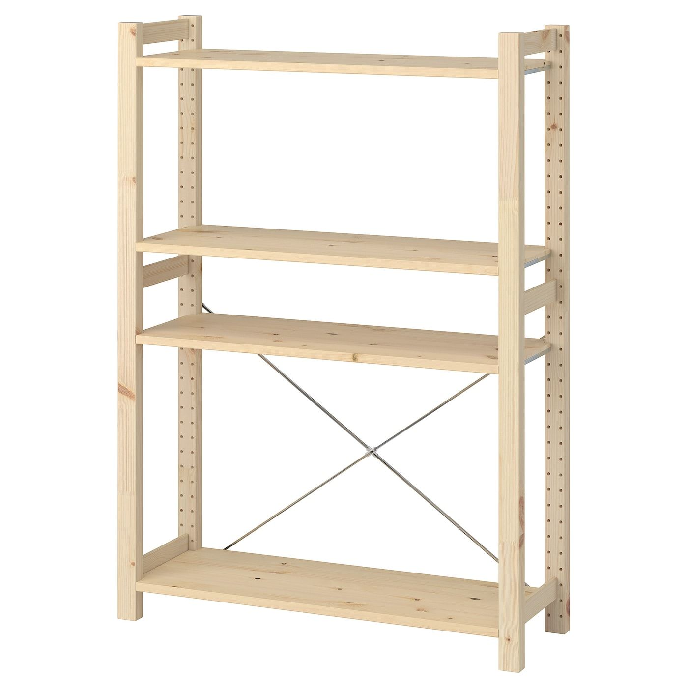 Ikea Ivar Pine Shelf Unit Ikea Shelving Unit Ikea Shelves
