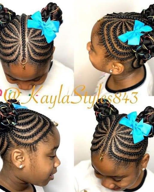 2020 Cute Braided Hairstyles For Pretty Kids Lil Girl Hairstyles Braids For Kids Little Girl Hairstyles