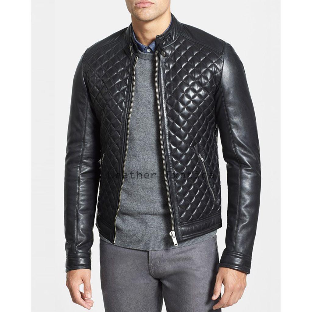 Leatherexotica Newly Arrived Women Genuine Soft Lambskin Leather Designer Style Unique Biker Jacket Size:L Black