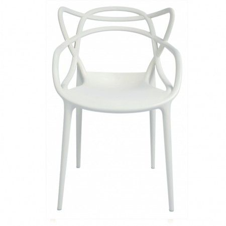 Chaise Masters Blanche Kartell Deco Home Pinterest Interiors