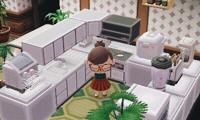 Red Kitchen Island Animal Crossing New Horizons - Kitchen ... on Animal Crossing Kitchen Island  id=46643