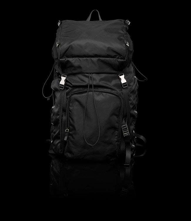New this year! The Prada Men's Backpack. Saw it in the Prada retail store and loved it! Lots of space and very durable!