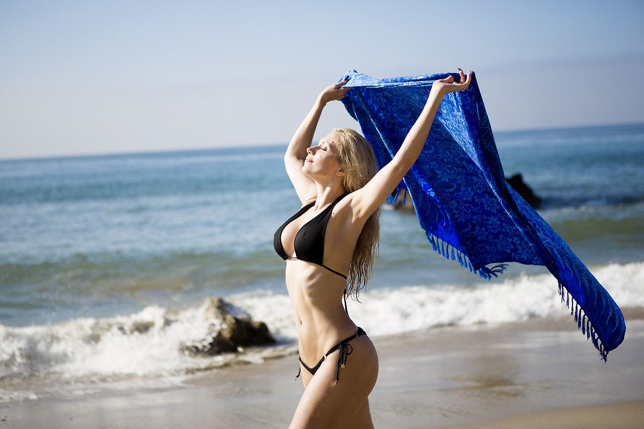dafne zoch beach photo malibu el matador california | beach style