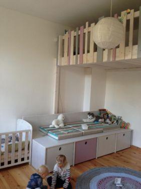 hochbett bauen hochetage galerie hochebene gebaut nach. Black Bedroom Furniture Sets. Home Design Ideas