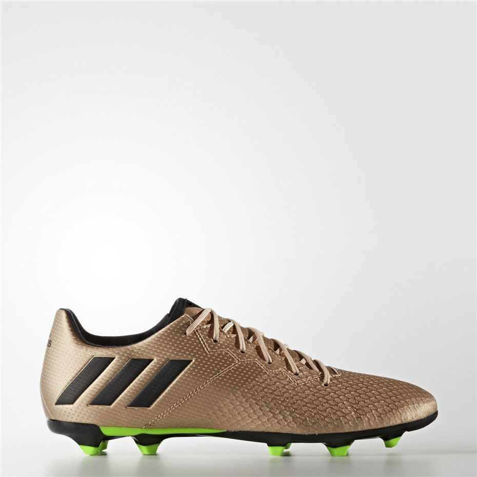 Adidas UK Shop - Adidas Messi 16.1 Firm Ground Cleats (Gold) for Men