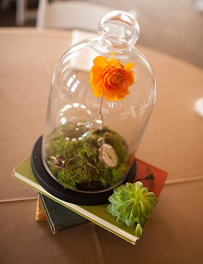 terrarium centerpiece - Birds of a Feather, Wendy Kay | Wedding Planners | Event Coordinators | Fort Worth, Dallas, Texas