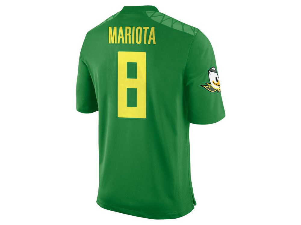 factory price 89ff0 41adb Oregon Ducks Marcus Mariota Nike NCAA Men's Player Game ...