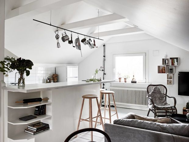 Inside A Minimally Sophisticated Swedish Home | Interiors, Kitchen ...