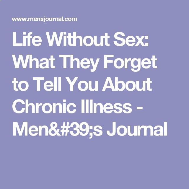 What is life without sex
