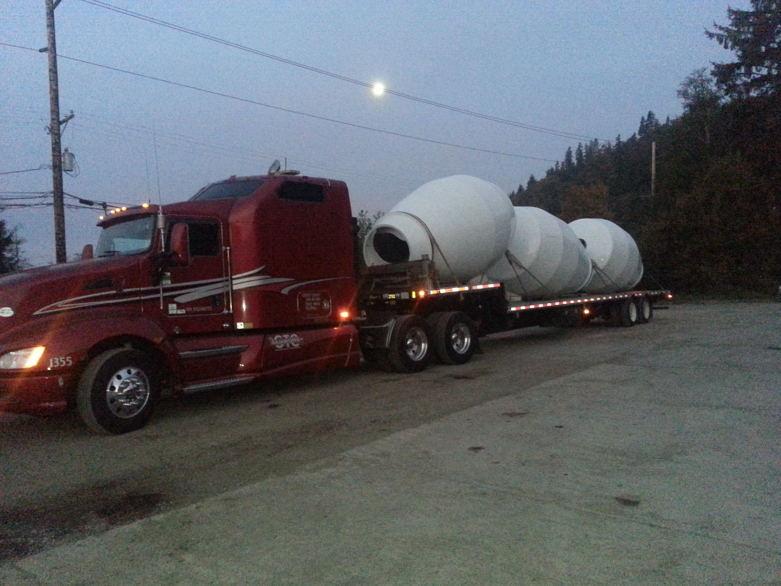 Cement mixers Owner operator truck photos Cement