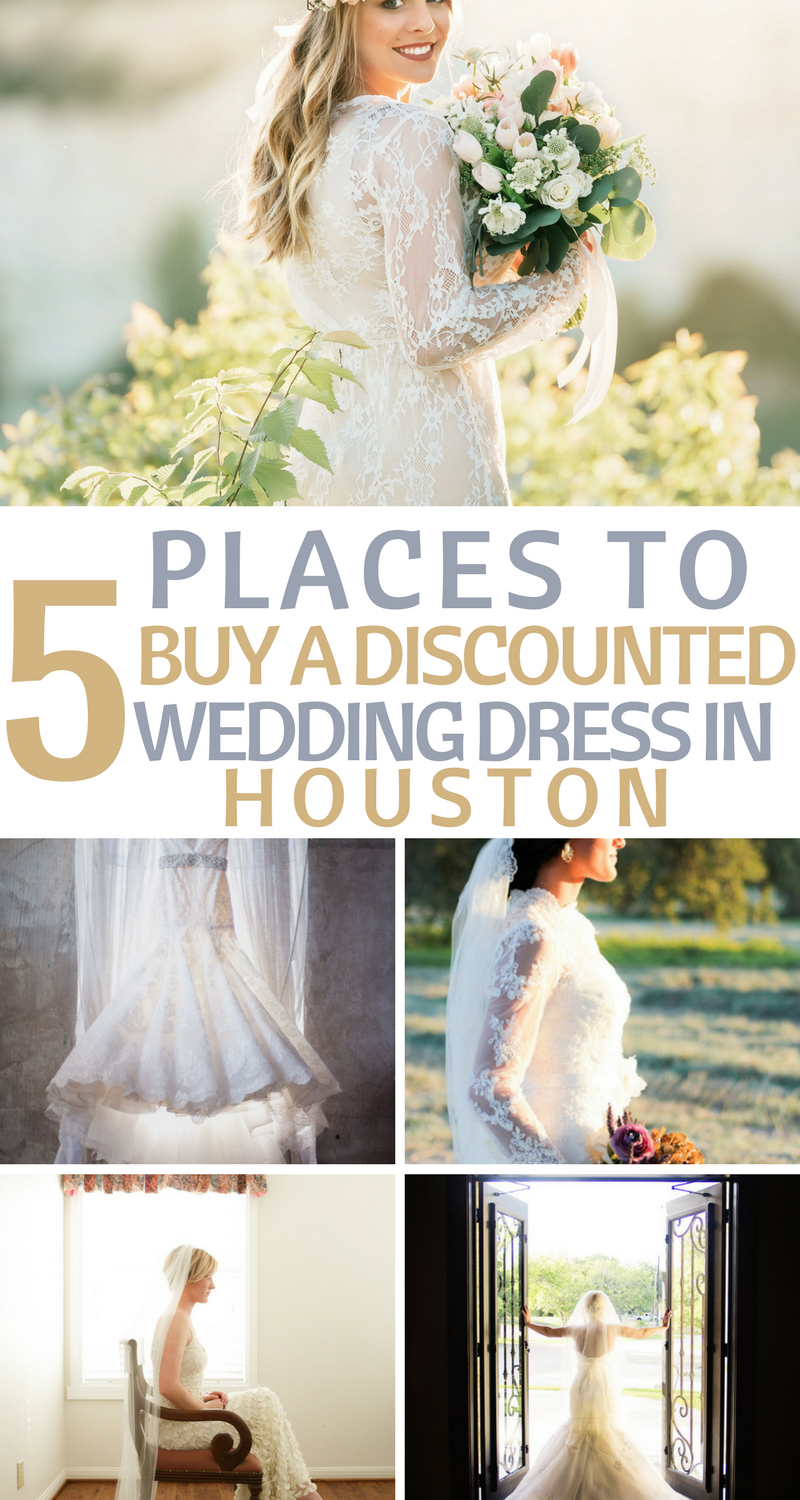 Top 5 Places To Buy A Discounted Wedding Dress In Houston