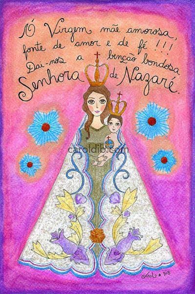Nossa Senhora De Nazaré Sementinhas Na Colab55 Pinterest God