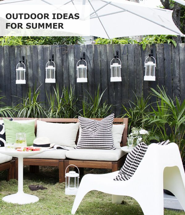 Summer Is For Spending Outdoors, And Sunny Days Are For Sharing With  Friends In The · Outdoor CouchIkea ...