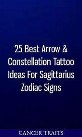 Photo of 25 besten Pfeil & Sternbild Tattoo Ideen für Sagittarius Sternzeichen #zodiacs …
