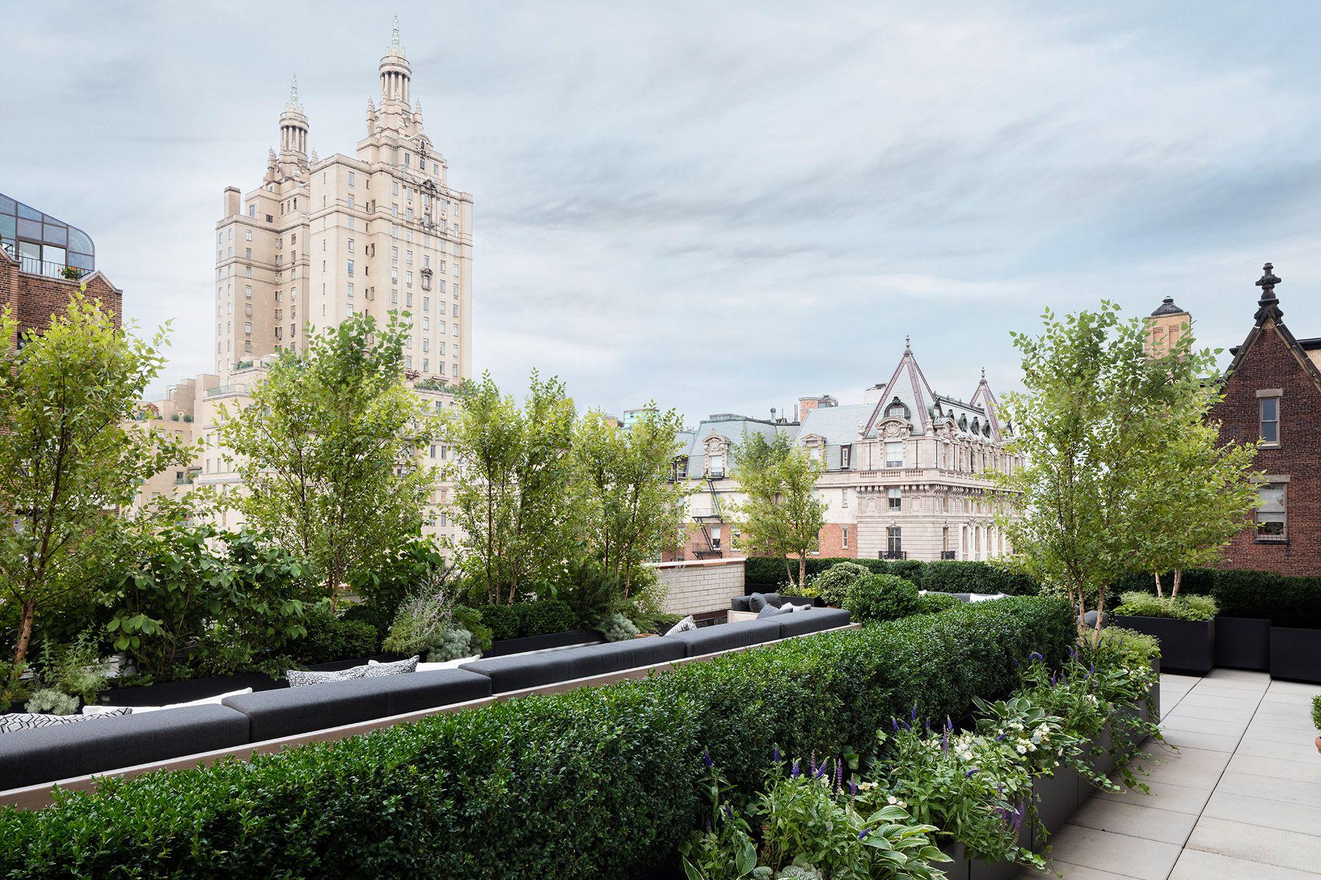 Upper West Side Harrison Green In 2020 Rooftop Garden Nyc Landscape Design Rooftop Garden