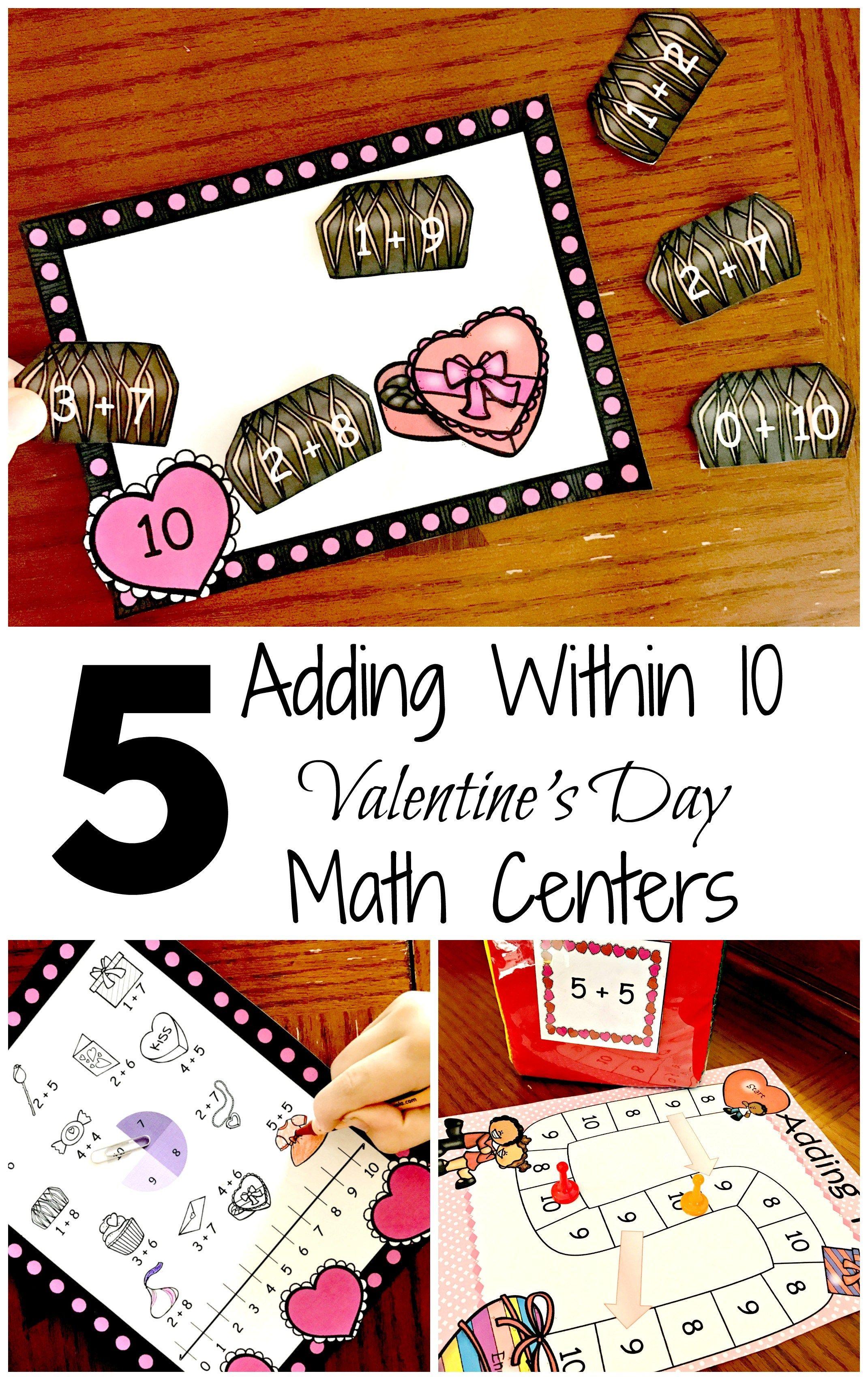 5 Addition Activities For Kindergarten To Practice Adding