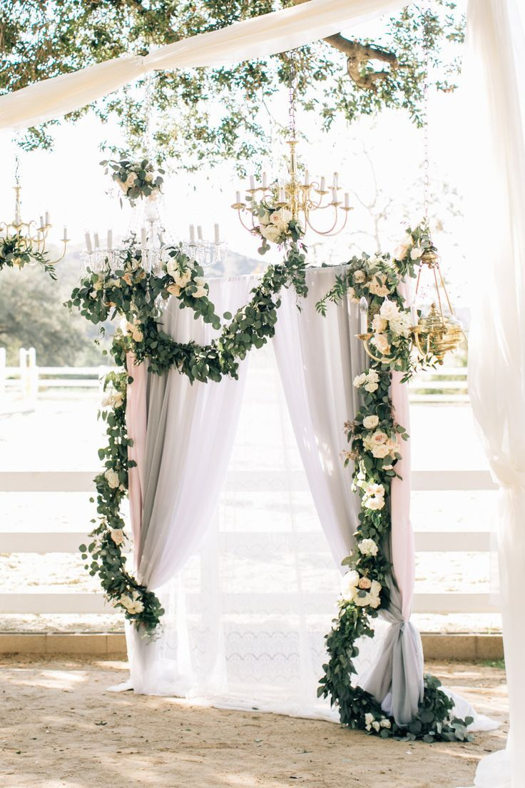 30 Best Floral Wedding Altars Arches Decorating Ideas Wedding Ceremony Backdrop Floral Wedding Wedding Altars