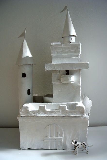 DIY Paper Box Castle