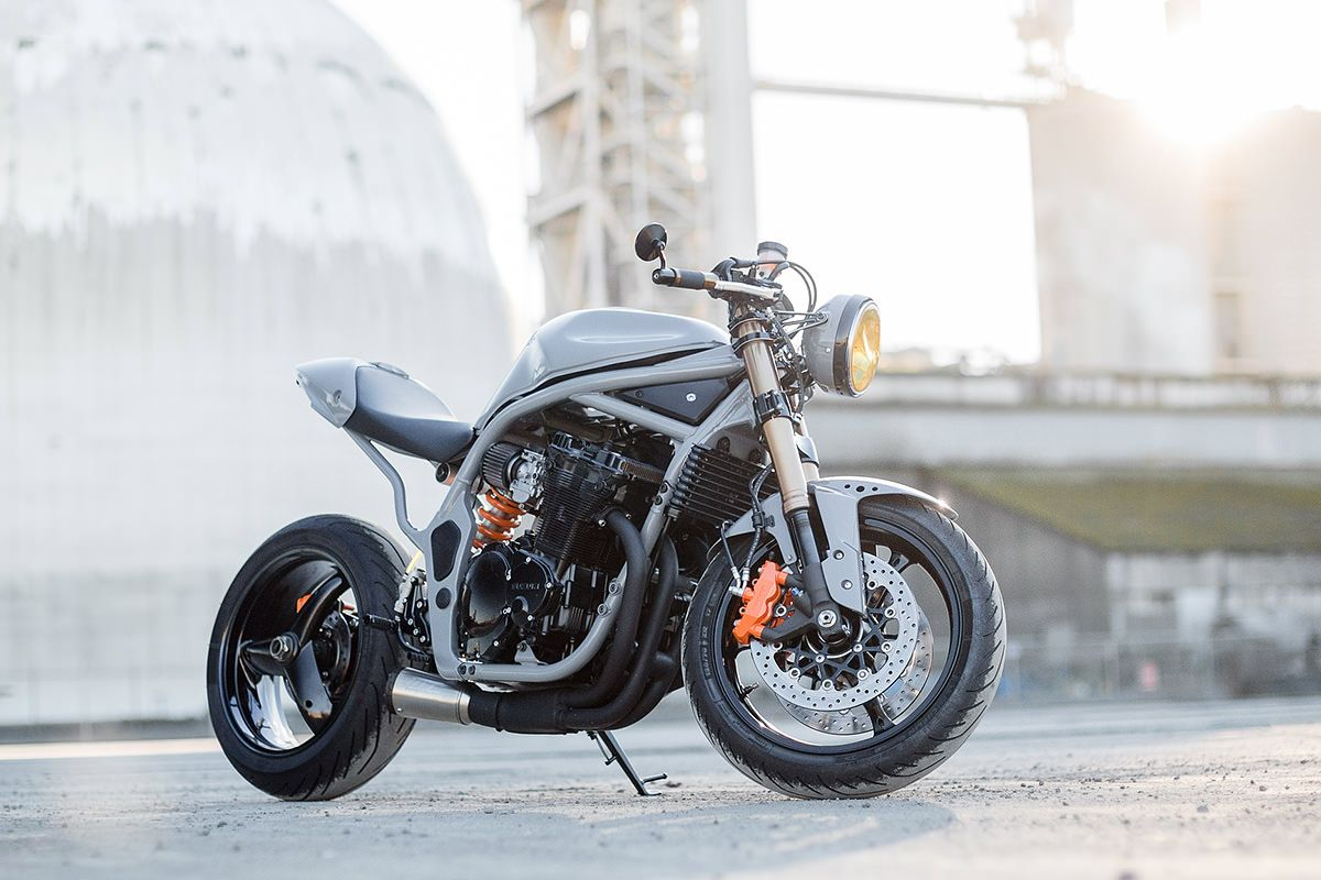 are we ready for a suzuki bandit cafe racer cafe racers turning and cafes