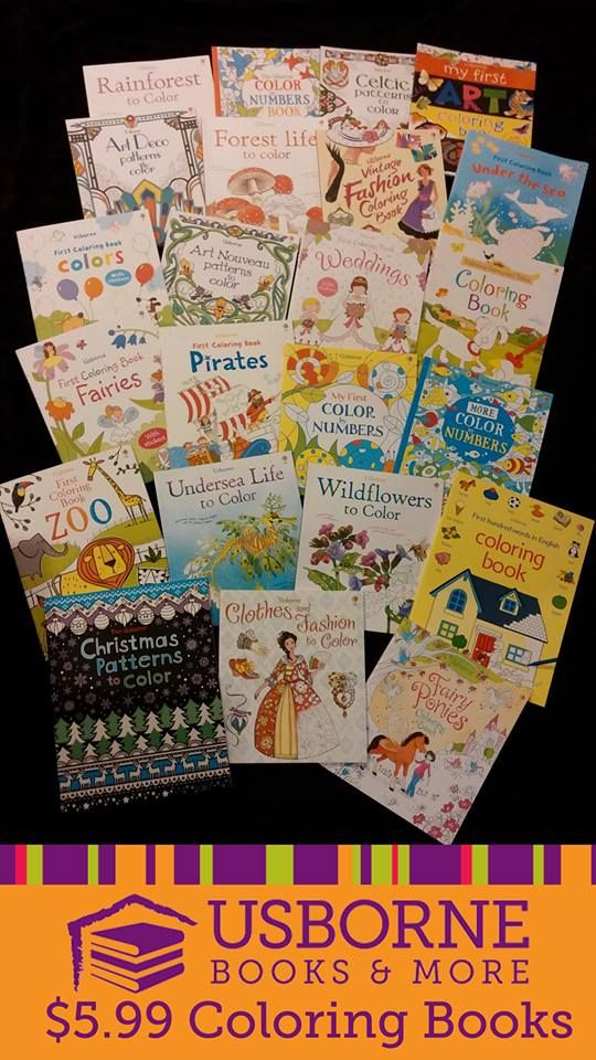 win a free usborne coloring book great for all ages usborne has coloring books - Usborne Coloring Books