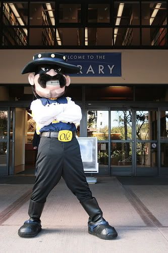 The Strangest College Mascots Part Ii Uc Santa Barbara Mascot College Spirit