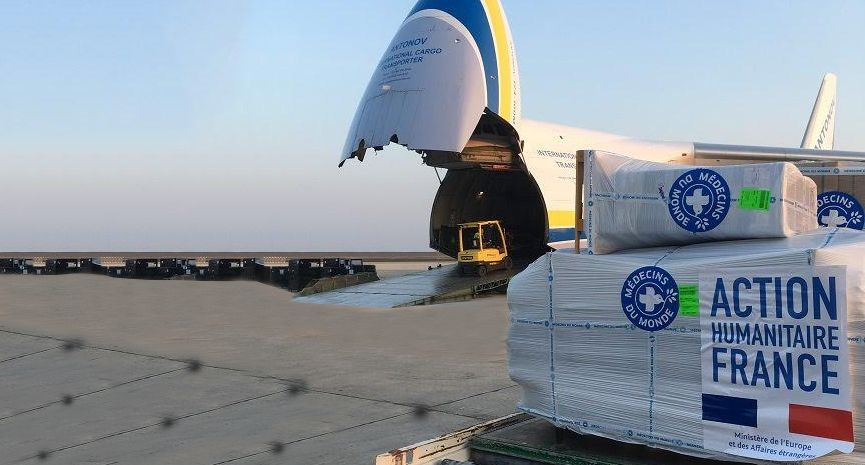 Bollore Logistics charters aircraft to provide aid for
