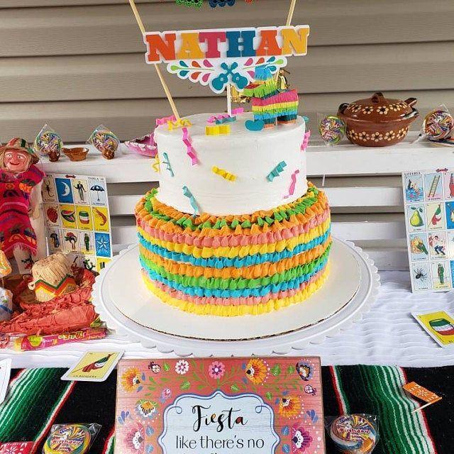 Photo of 1x Mini Donkey Pinata Cake Topper, Pinata Cake Topper, Cinco de Mayo, Fiesta Bir…