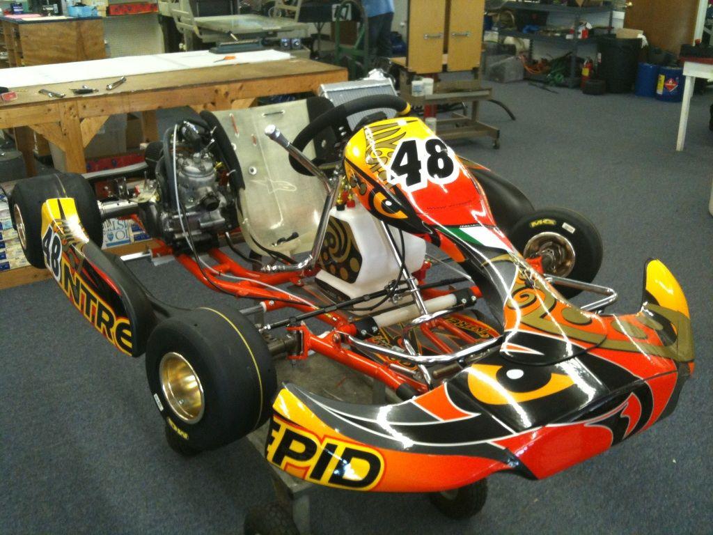 Nathaniel new 80cc shifter race kart!!! | Racing & Autos