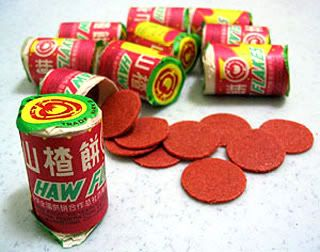 Haw Flakes Sweet And Chewy Candy Made From Hawthorn Childhood In