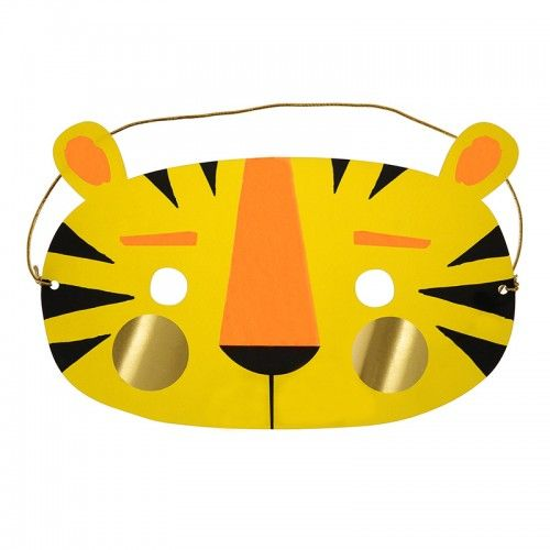 Meri Meri Birthday Card - Tiger Mask
