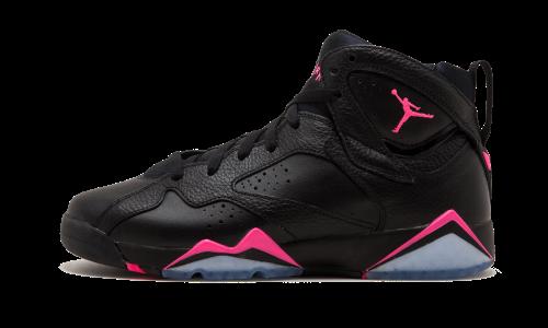 the best attitude 0e65a fd6a7 Air Jordan 7 Retro GG - 442960 018, Size  5.5Y, Black Hyper Pink-Hyper Pink