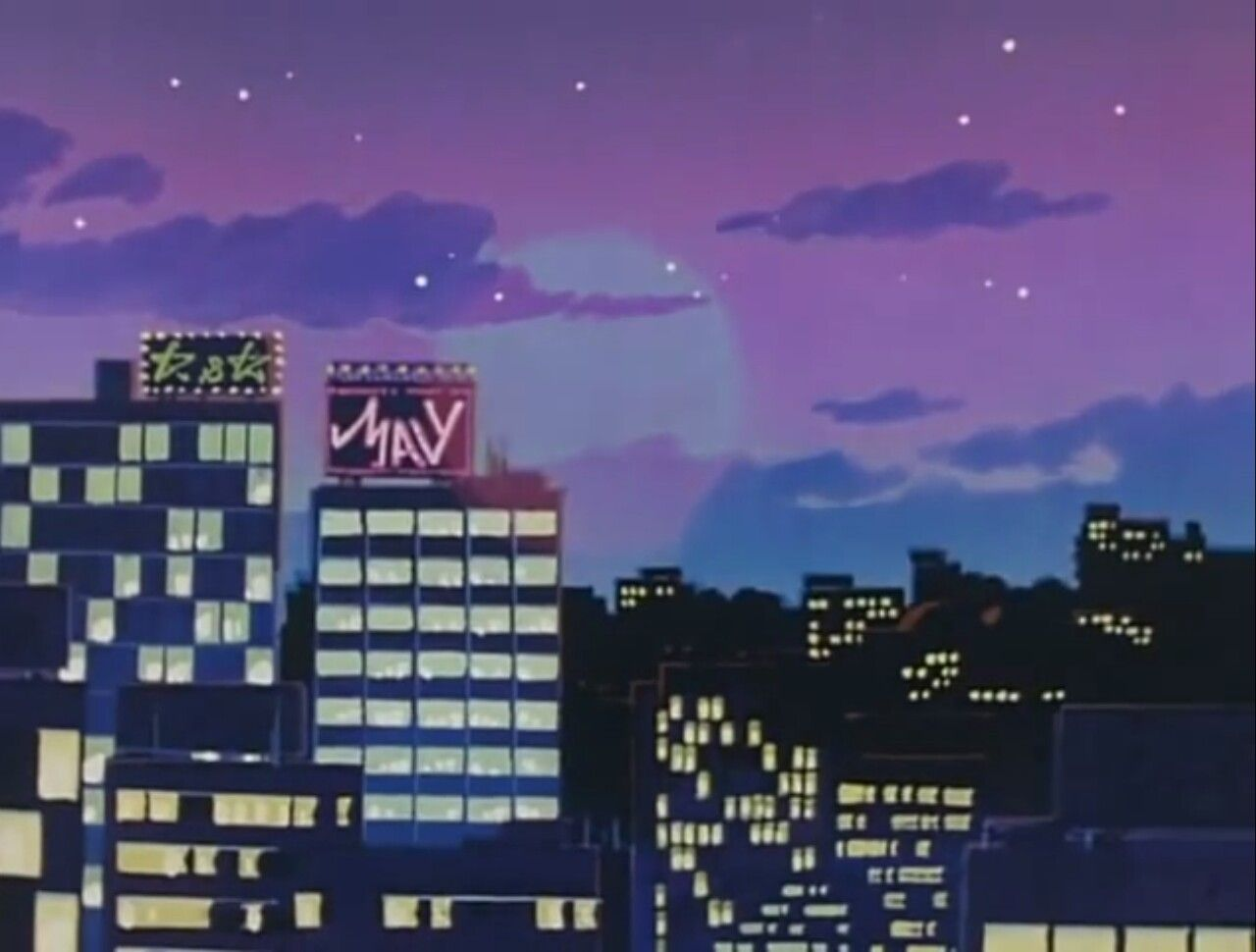 Moved To Dezaki Anime Scenery Aesthetic Anime Anime City