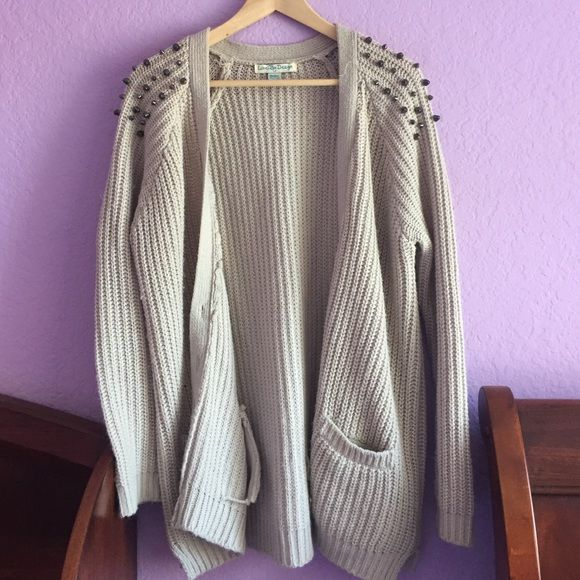 Studded cardigan!!! worn once Love By Design Sweaters Cardigans