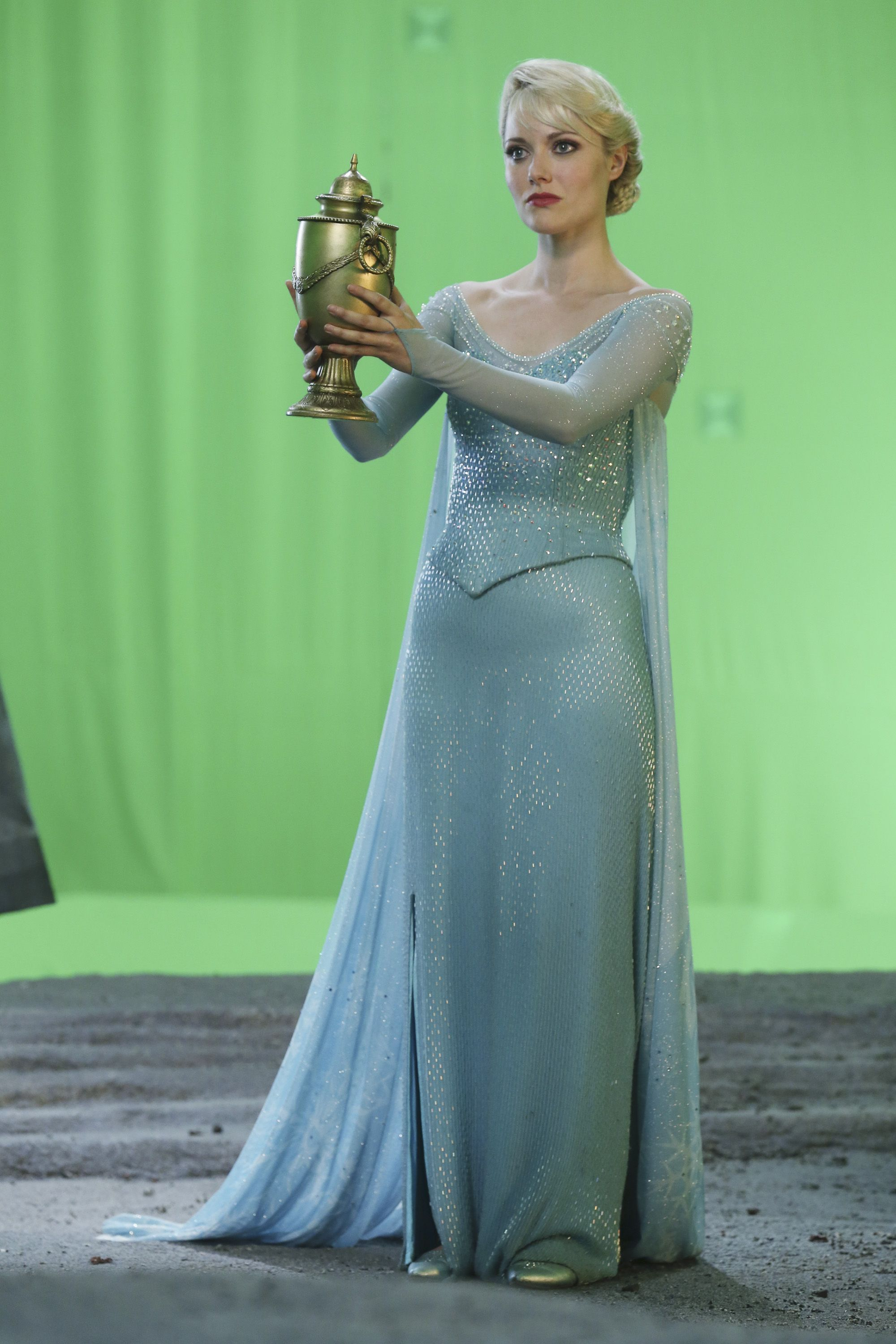 Once Upon A Time Elsa : Photo, Episode, Rocky, Time., Time,, Ouat,, Georgina