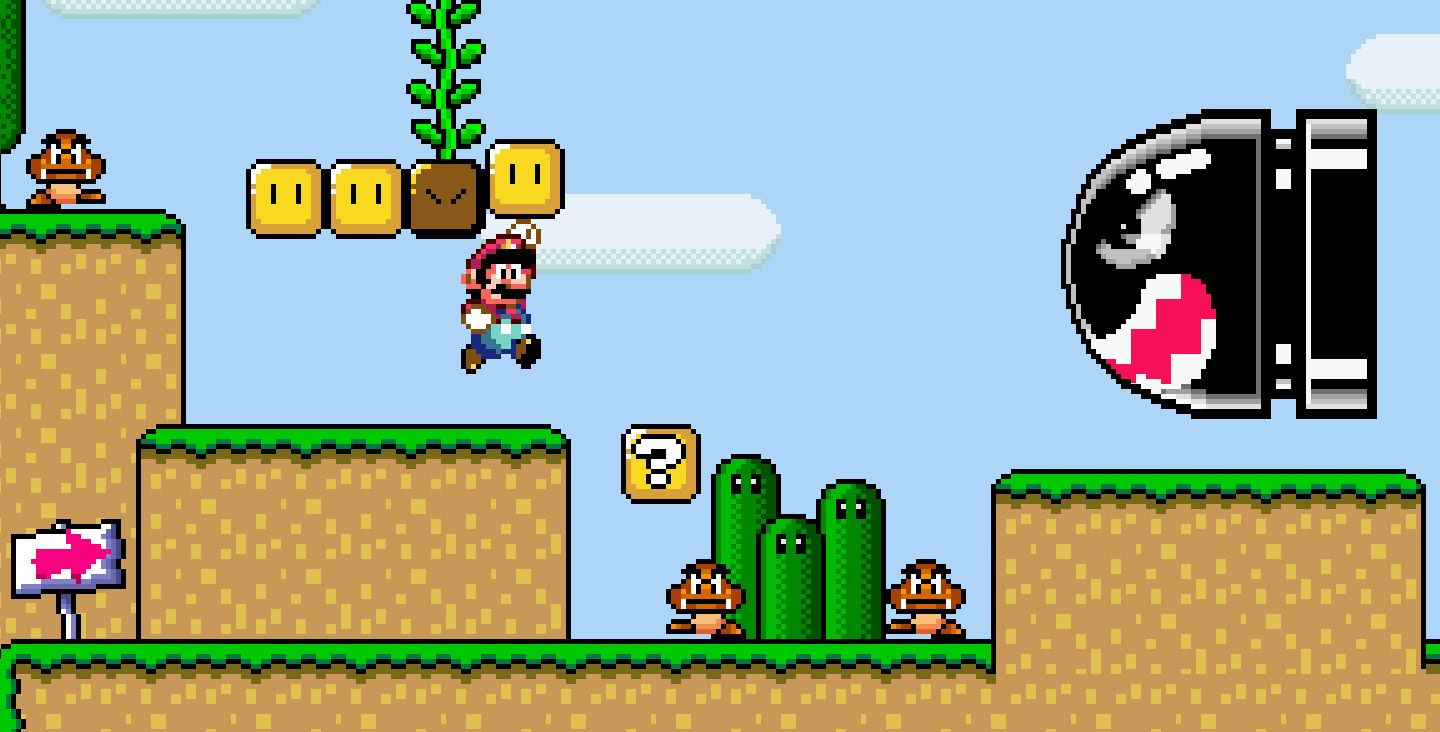 how to play snes super mario world on pc
