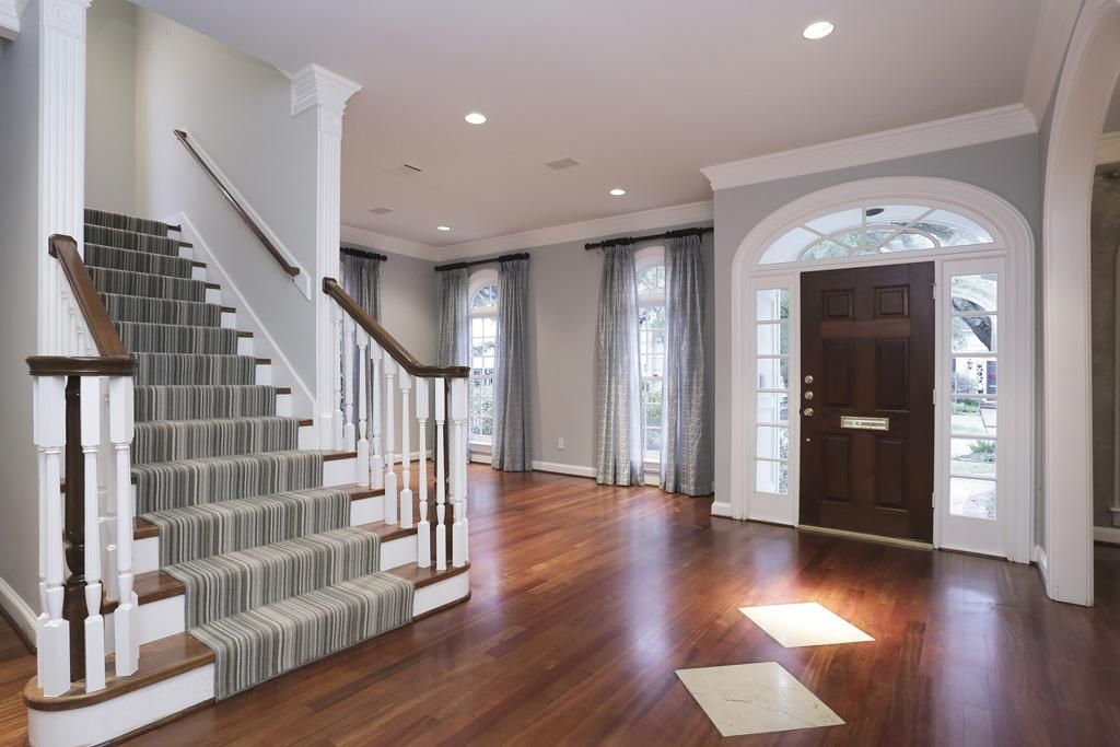 Awesome Room · Rich Looking Recently Refinished Brazilian Cherry Wood Floors ...