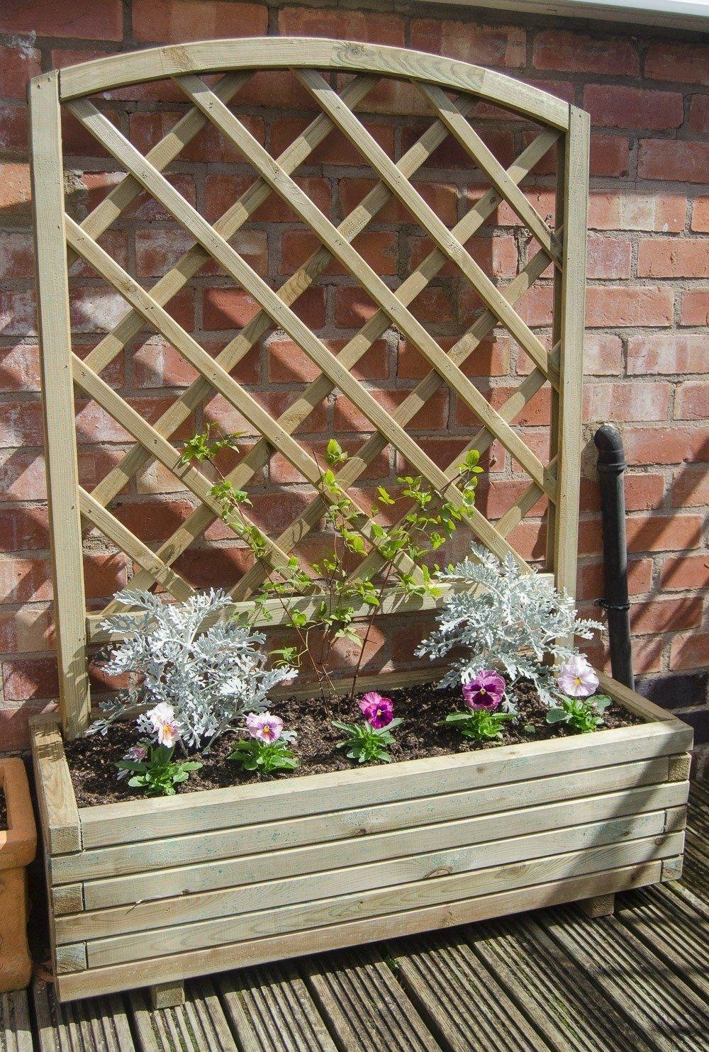 Forest Toulouse Garden Trellis Planter | Garden Planters | Pinterest ...