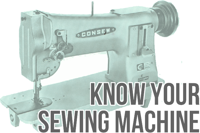 get to know your sewing machine, sewing 101