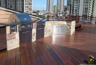 Diagonal Planks On Deck